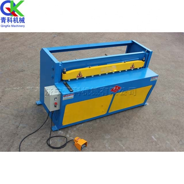 Road sign manufacturing small stainless steel aluminum sheet iron sheet hydraulic cutting machine