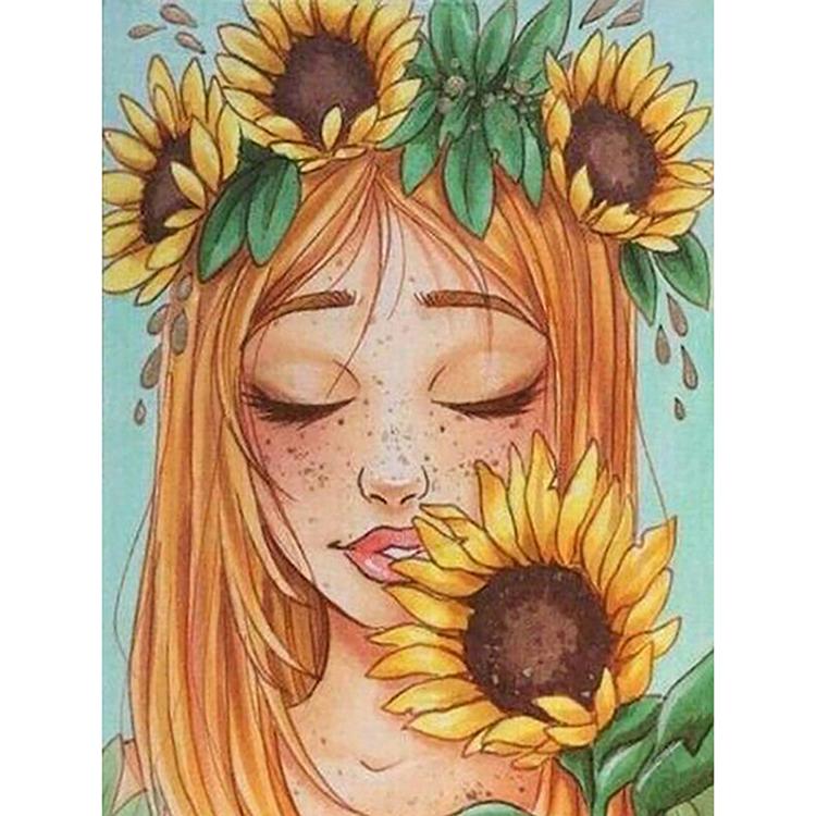 Ikon Berlian Bordir Kartun Bunga Matahari Gadis 5d Kruistik Penuh Persegi Lukisan Berlian Bor Diy Stiker Dekorasi Lukisan Buy Penuh Diamond Lukisan Diamond Bordir Dekorasi Rumah Product On Alibaba Com