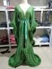 Green Long robe
