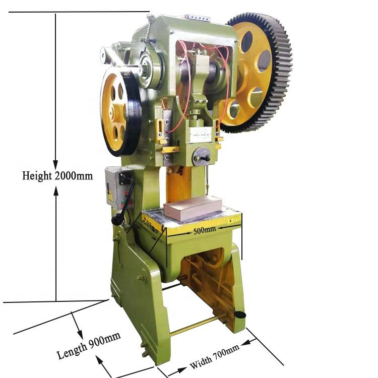 J23-25T punching machine