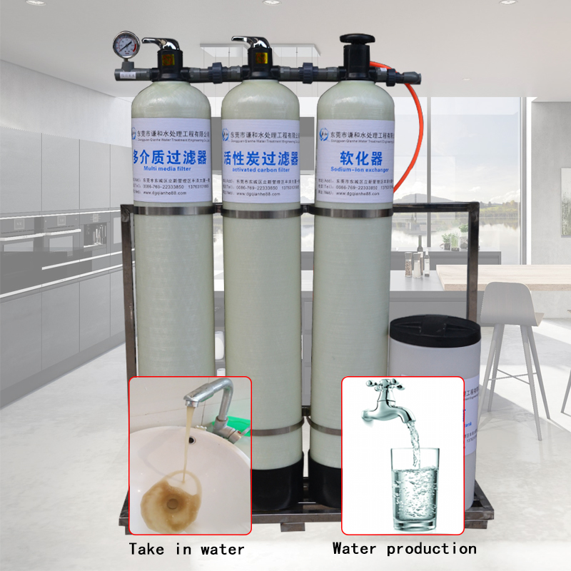 factory direct sales manual three stage water softener filter water softening equipment Softener filter and Water Filter