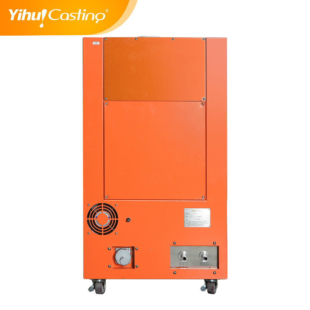 Yihui brand induction heating melting furnace for platinum with capacity 1-4KG