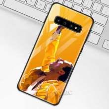 Чехол Фредди Меркури Queen band для samsung Galaxy S10 S10e S9 S8 Plus A70 A50 A30 Note 9 10 + 5G из закаленного стекла Coq(Китай)