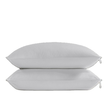 100% Cotton with Microfiber Filling down pillow insert