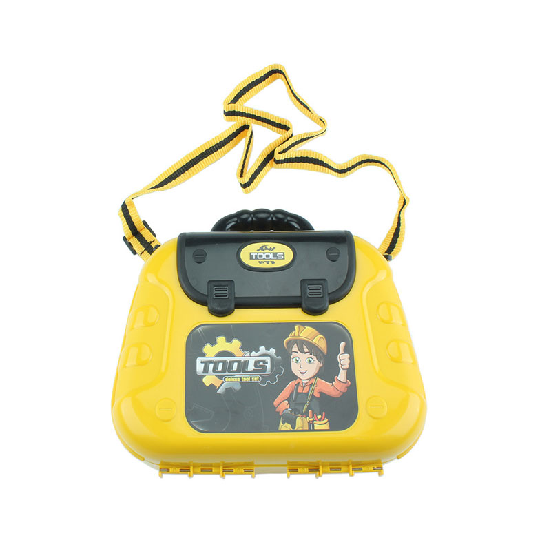 Оптовая продажа, diy строительный чемодан для мальчиков, пластиковый игровой инструмент, набор игрушек, Детская имитация