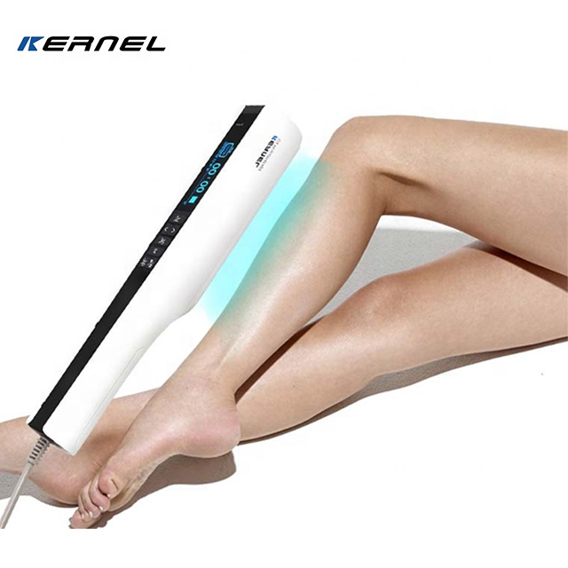 new model KN-4003BL2 Kernel 311nm narrow band UVB lamp home UV phototherapy for vitiligo psoriasis treatment