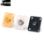 Wholesale Guitar Parts Series,Plastic Square Style Electric Guitar Output Jack Plate for L P Electric Guitar