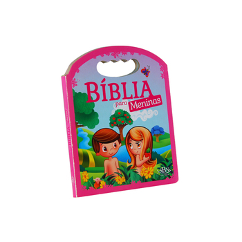 Wholesale Custom Children Learning bibles christian holy bible printing Age 4 - 10 kids Study Bible Story handle board book