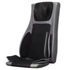 Jare 666-8F Wholesale Electric Back And Neck Kneading Seat Vibrating Auto Model Lumbar Airbag Massage 4D Massage Cushion
