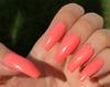 peach stiletto
