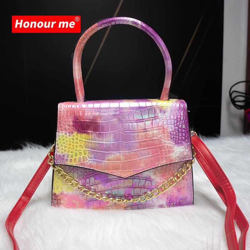 2021 Custom Ladies Chain Crossbody Bag leather bag matt luxury handbags women handbag latest purse women hand bags