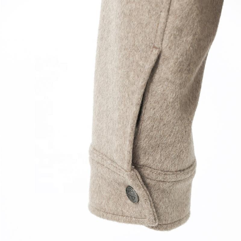 Huiquan/оптовая продажа, мужская куртка из смешанной шерсти, ветронепроницаемая мужская куртка из смешанной шерсти