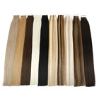 Extension Hair Human Extension Double Sided Pu Skin Weft Remy Double Drawn European Tape Hair
