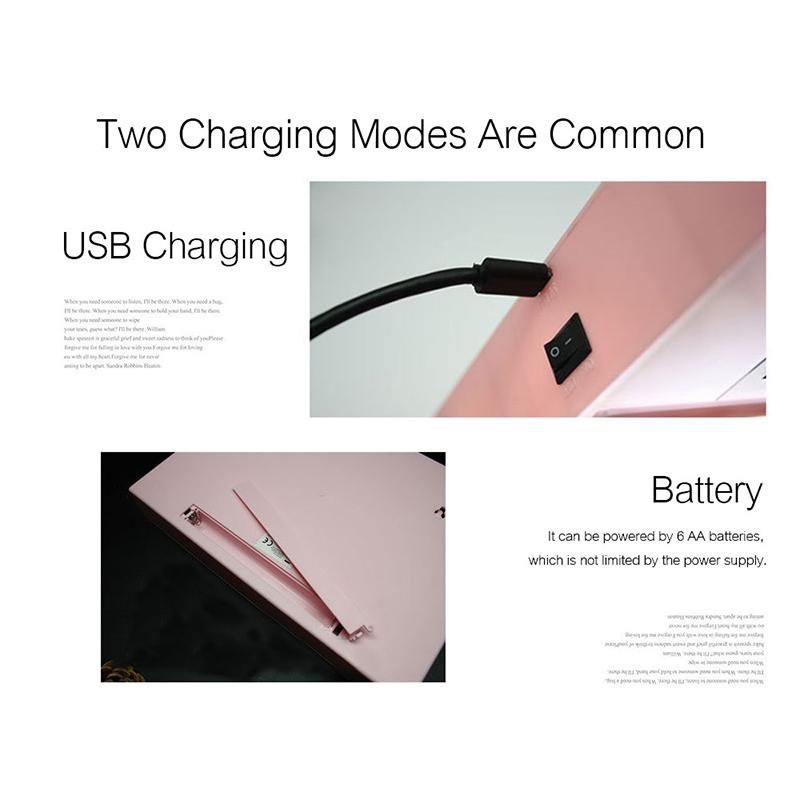 Комбинированный светодиодный ночник на батарейках АА с USB, декоративная лампа «сделай сам» с буквами, символами и картами, световая панель для сообщений
