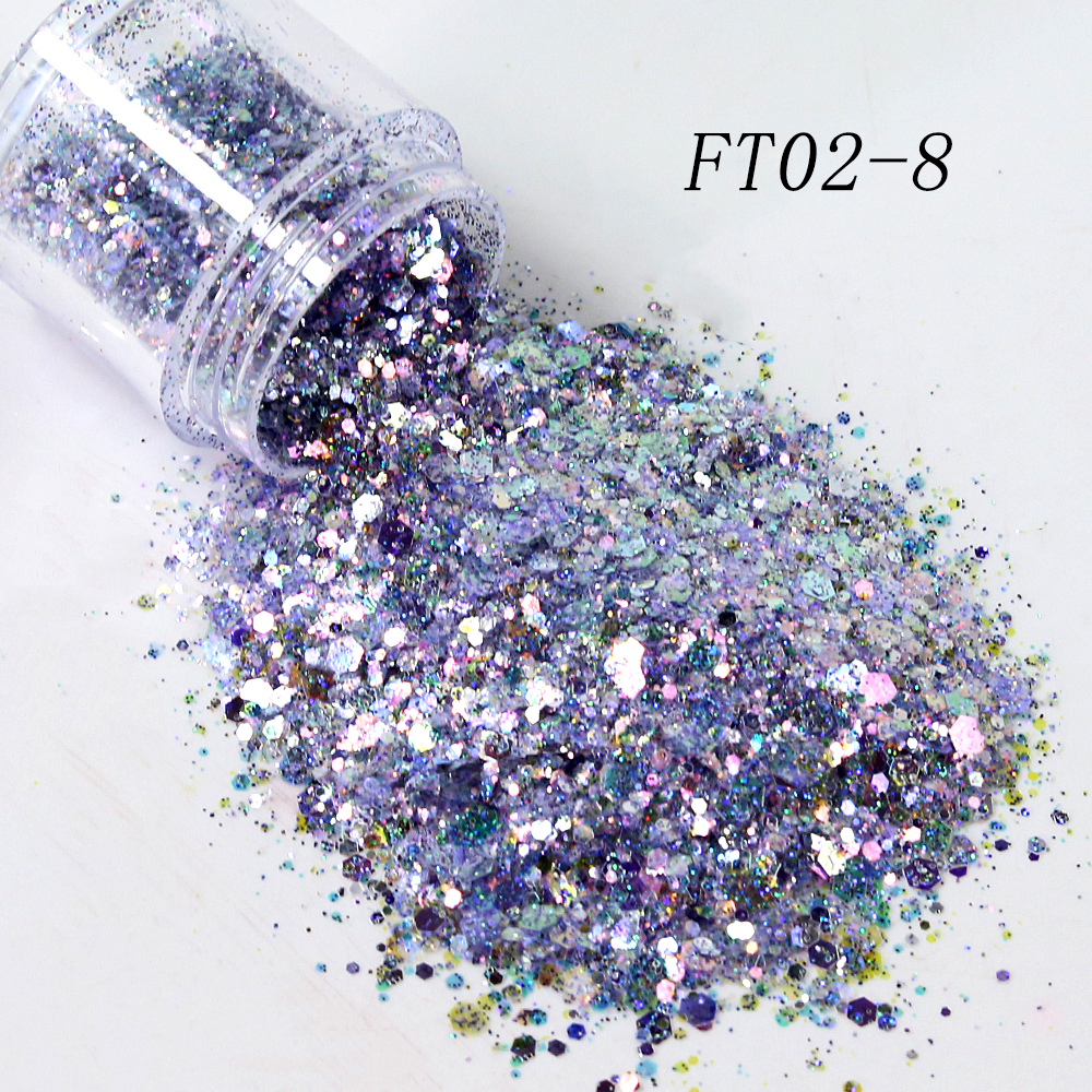 Fairy tears mix fashion opal bulk glitter makeup eyeshadow nail chunky cosmetic glitter powder supplier