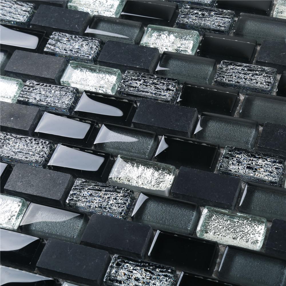 Заводской поставщик, дезинфицирующая стеклянная мозаичная плитка для кухни HSPA02