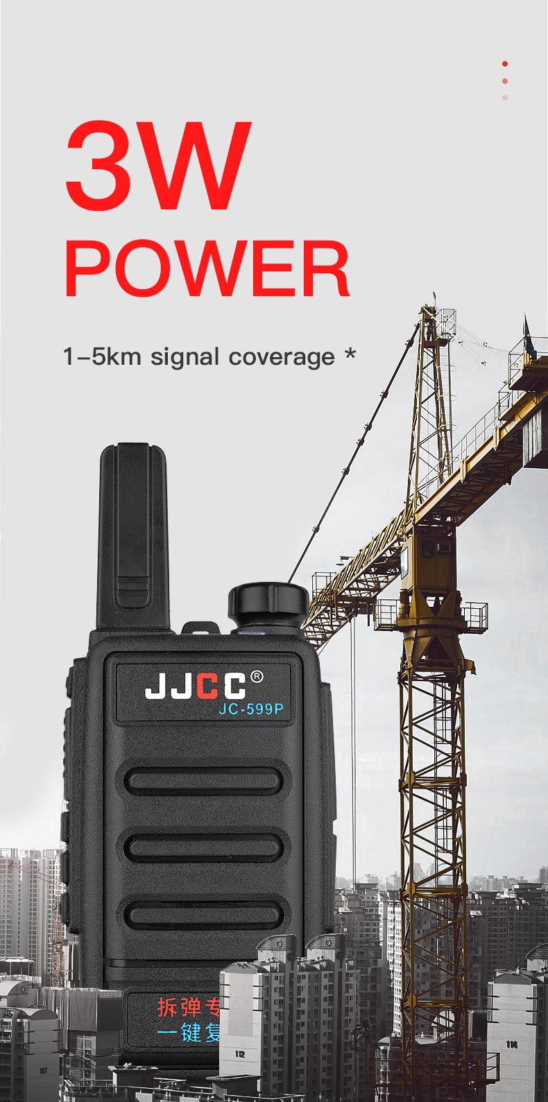136 174MHz 400 480 MHz 5km wireless uv-5r vhf uhf security talk  woki toki Walkie talkie  two ways radio JC-599