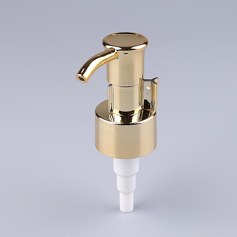 Специальный заводской кремовый насос 24/410, матовая Золотая бутылка для лосьона, Золотая насадка для насоса для мыла 28 410 для бутылки-распылителя