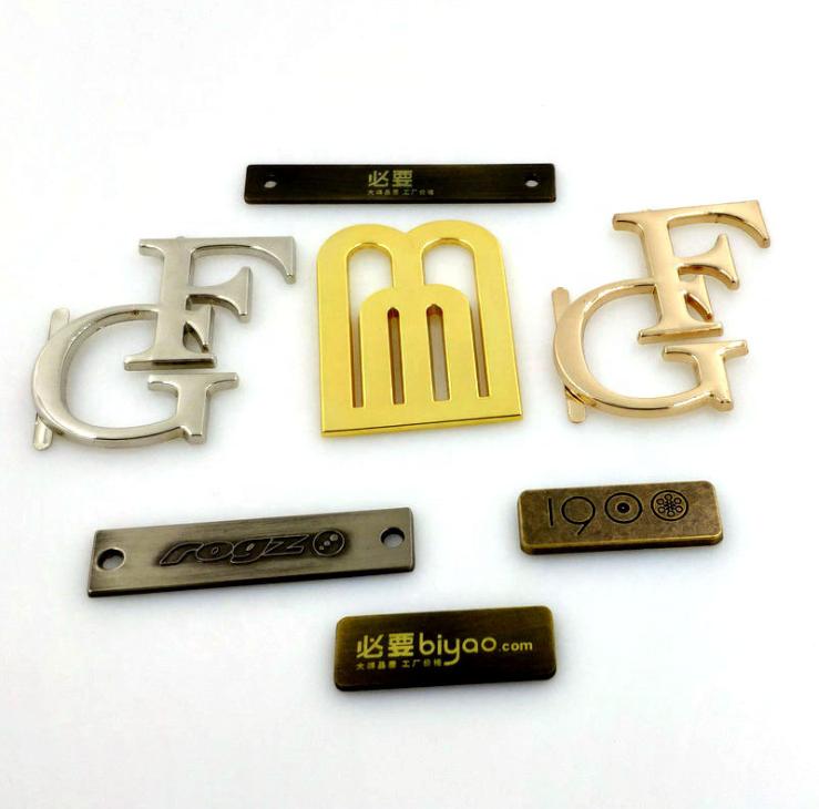 Custom Garment Metal Labels for Clothing