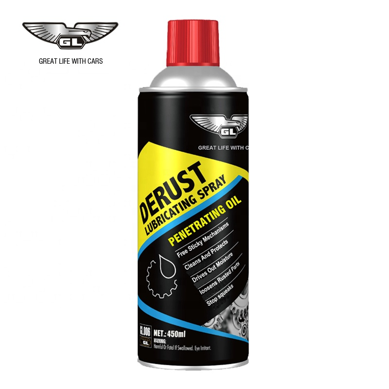 GL High quality Motor bike chain lube lubricant oil spray