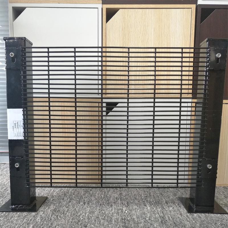 Высокий сетчатый тюремный забор 358, защита от подъема забора