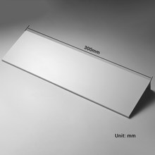 Белая, 300-500 мм, алюминиевая, настенная, одноуровневая, многофункциональная, для ванной, кухни, душевой, туалетной комнаты, аксессуары, полка(Китай)