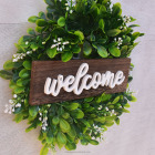 Artificial Flower Artificial Hanging Flowers Artificial Welcome Flower Green Wreath Spring Wreath Boxwood Wreath Hanging Garland Wedding