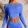 Blue-long sleeves