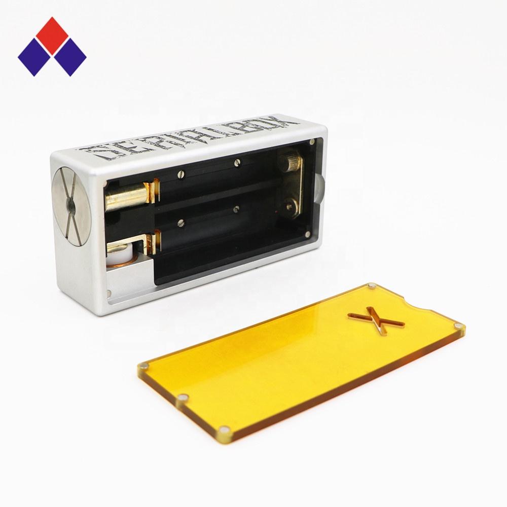 Factory price OEM E cig 18650 battery new best e cigarette custom box mods vape - MrVaper.net