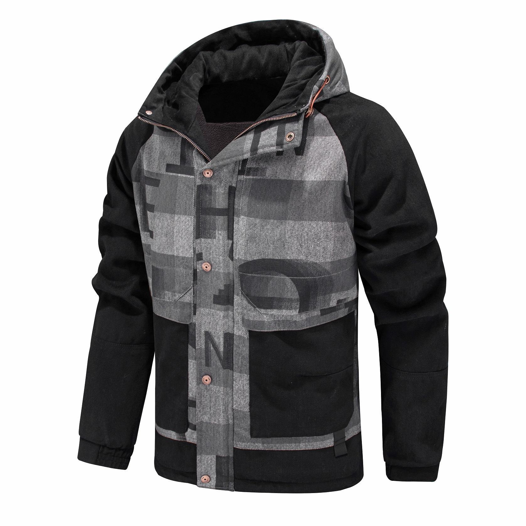 Bomber Jacket Euro Size Fashion OEM Custom Service Outdoor Fleece inside Windproof Design Custom Jaqueta Chaqueta Jacket