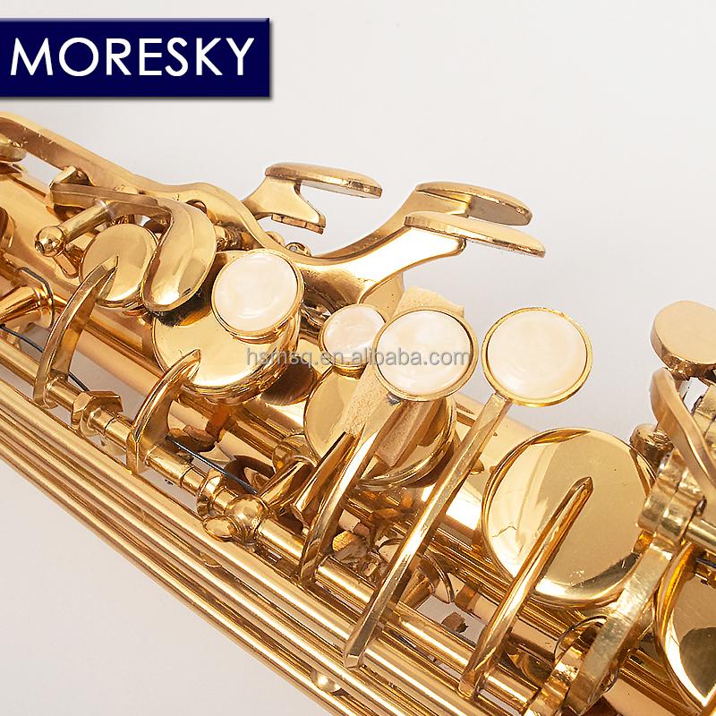 MORESKY E-Flat Eb Alto саксофон Золотые ключи с чехлом музыкальный инструмент