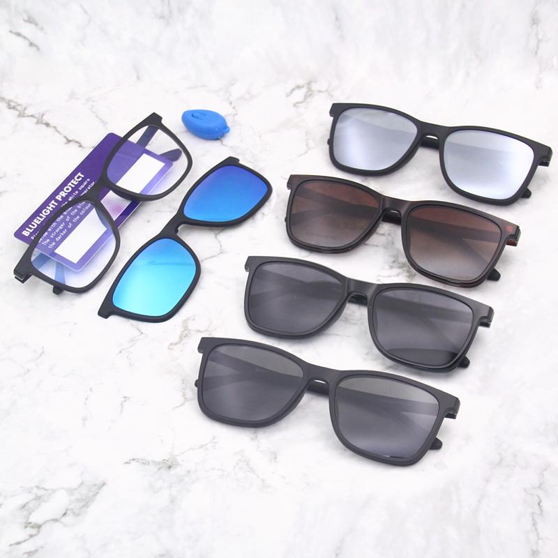 Очки с защитой от синего света для компьютера, в наличии, с небольшим минимальным заказом, поляризованные солнцезащитные очки с зажимом