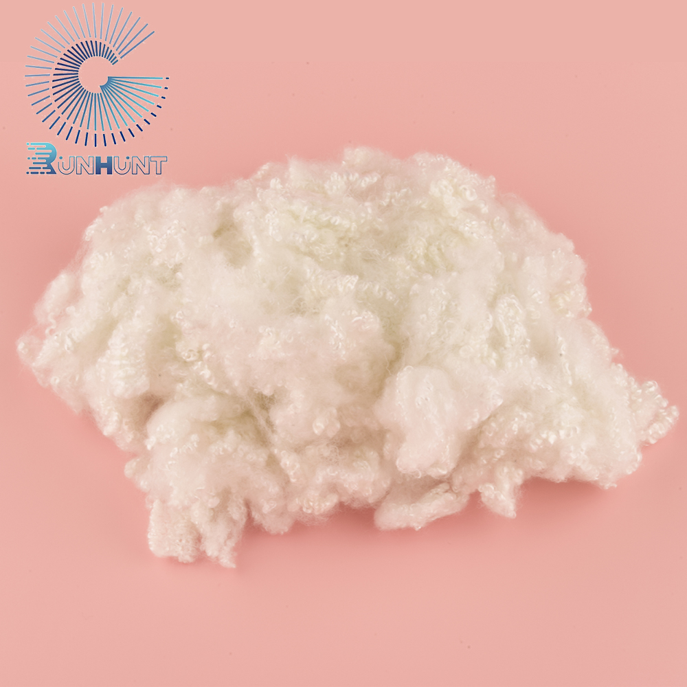 RUNHUNT Wholesale Stuffing Material Hollow Conjugated Recycled Polyester Fibre Sheets for Filling Toy Sofa Pillow Beds Quilt