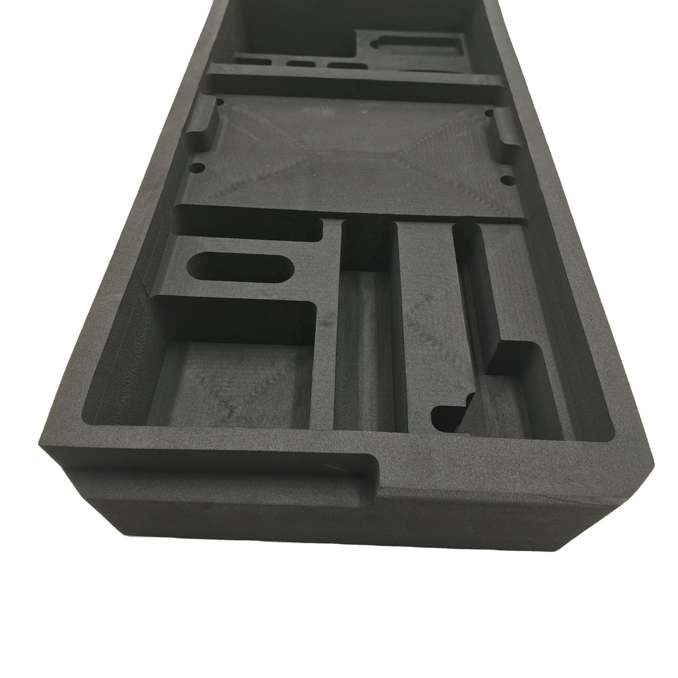 Пользовательская вставка из пены eva, вставки в коробки, литой упаковочный пенопласт для защитной упаковки Винных Бокалов