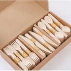 Set Wooden Set Professional Cutlery Set With High Grade Wood