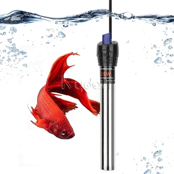Stainless steel heating rod explosion-proof constant temperature 25w aquarium water heater