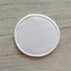 De algodón blanco pad