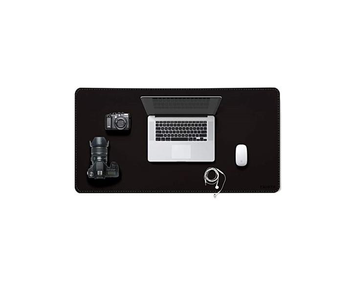 Офисный двухсторонний Настольный коврик из искусственной кожи, коврик для ноутбука, Настольный коврик для письма, коврик для мыши