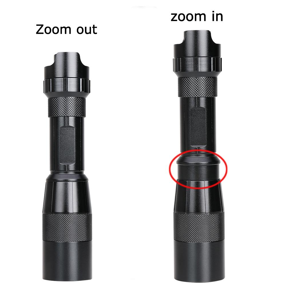 Dropshipping service RichFire Dimmer flashlight night hunting torch light 850nm IR flashlight