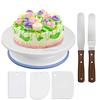 6pcs cake turntable set