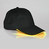 Black Cap with Yellow Lights
