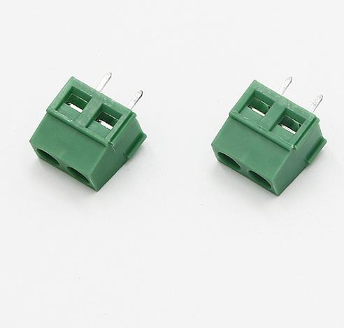 Lycn High Quality 5.00/ 5.08 Green Electronic PCB Screw Terminal Block 2-24pin Male Wire To Wire Connector For PCB
