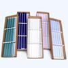 colored glass straw set