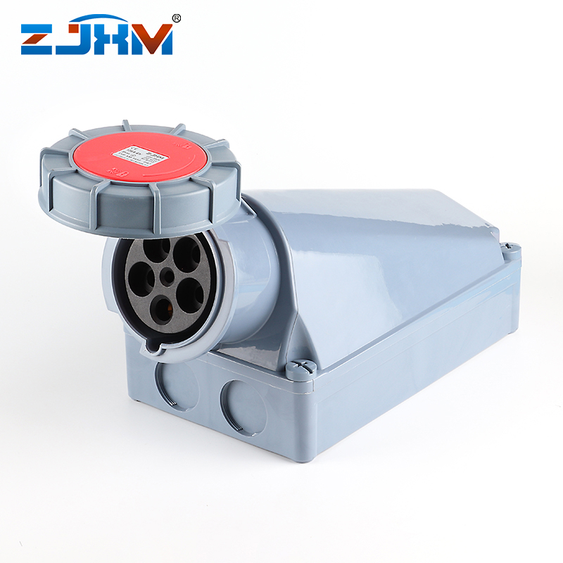 XM-1452 IP67 5pin industrial isolater socket and plug