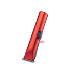 Clipper Professional Hair Clipper For Barber Salon Creative For Man Home Use Charging Stand Precision Red Trimmer Oxidation