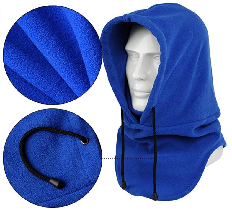 Winter Bike Neck Warmer Motorcycle Windproof Fleece Balaclava Ski sport mask Wind-Resistant Winter Full Face Mask Shield
