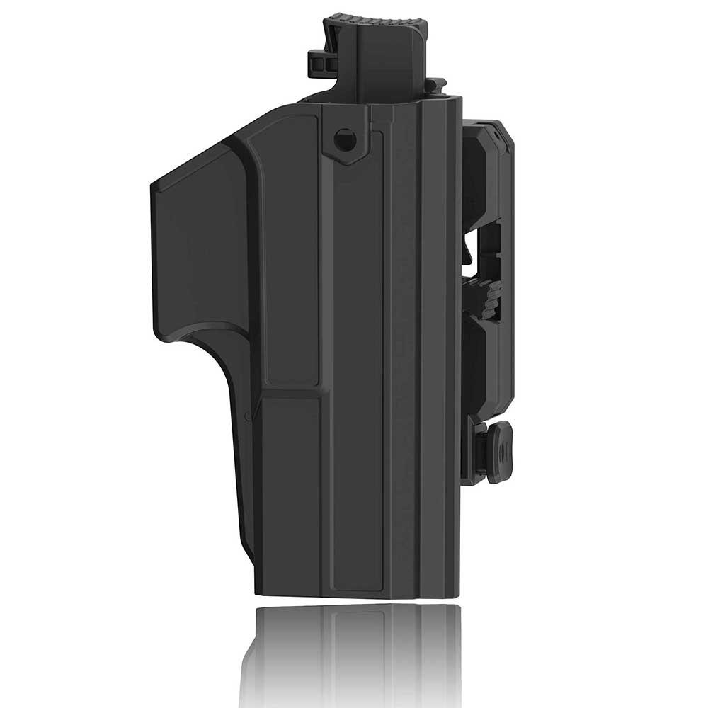 Кобура с зажимом для большого пальца Glock 17, кобура Glock 22 31, два в одном, тактическая Регулируемая кобура на 360 градусов