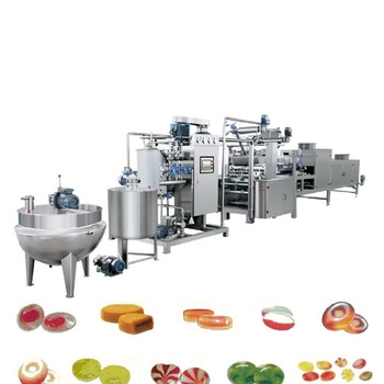 Complete automatic small hard candy making machine jelly candy production line