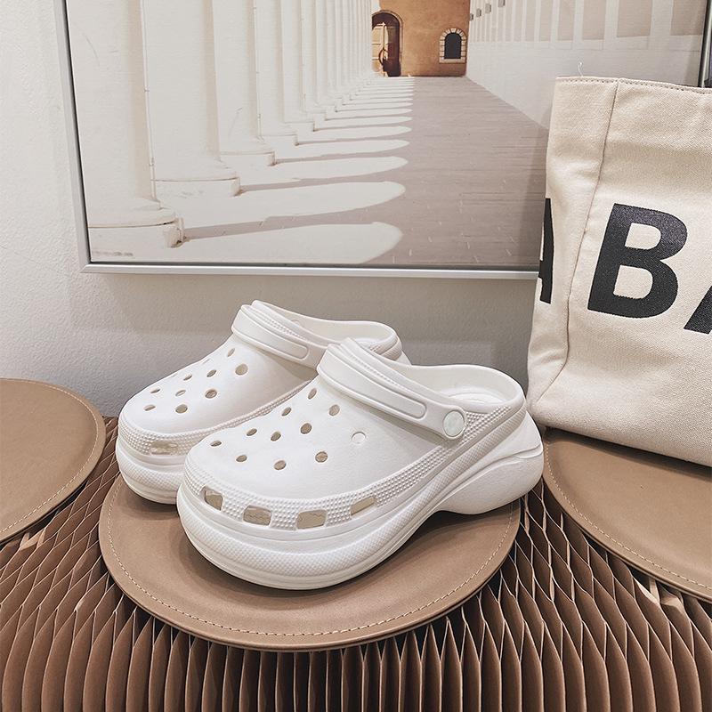 drop shipping heels platform nursing sandals eva clogs slippers for women and ladies