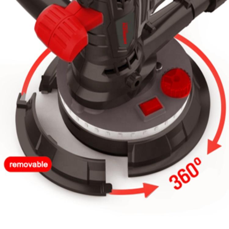 HDS215B 900 Вт 215 мм электрический шлифовальный станок для гипсокартона без пыли